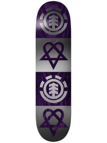 Element Bam Heartagram Quad 8.0 Skateboard Deck