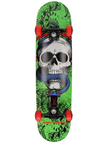 """a7b88e5f8378 62.70; New Powell Peralta Skull & Snake 7.75"""" Complete"""