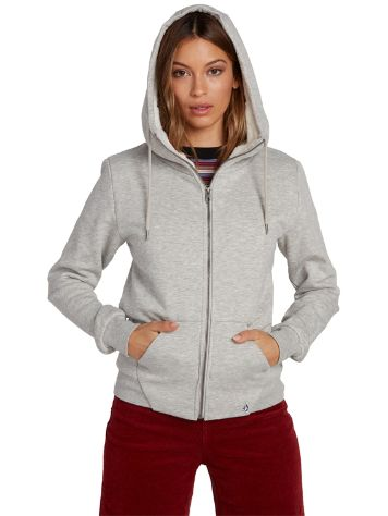 Volcom Walk On By Sherpa Zip Hoodie