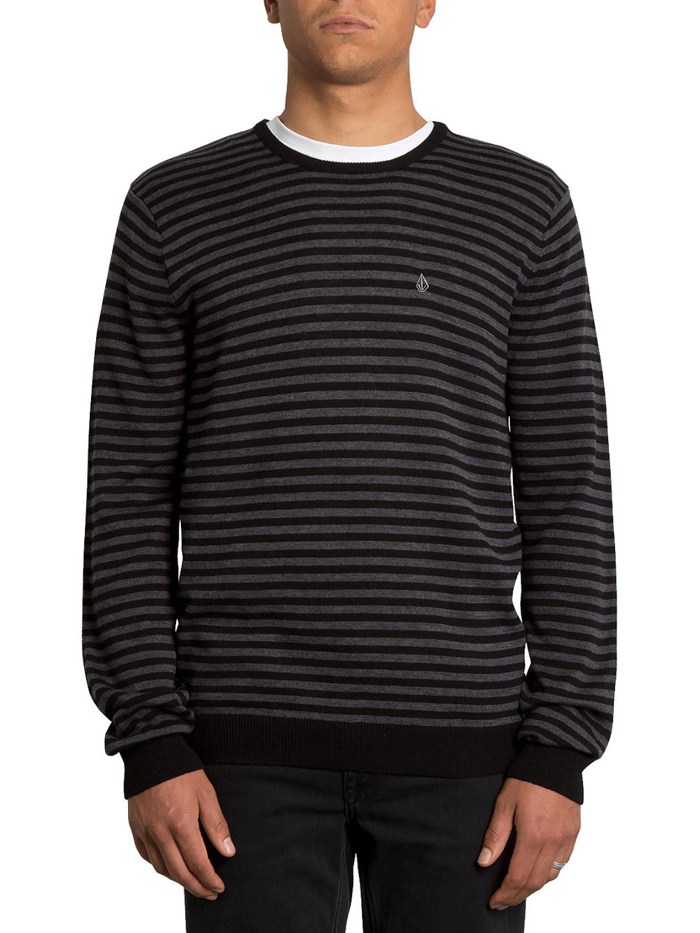 Uperstand Stripe Pullover