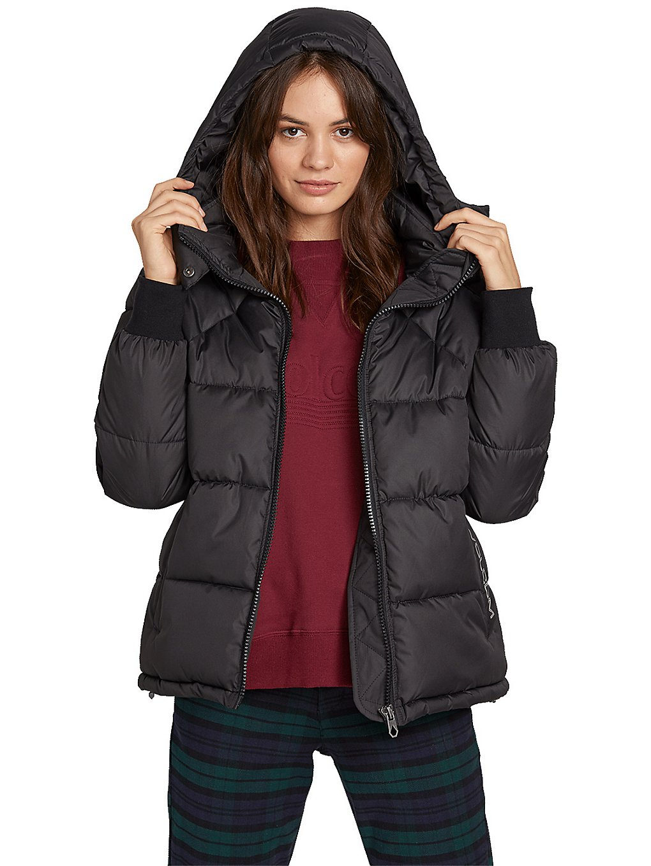 volcom hip stone puffa insulator jacket black