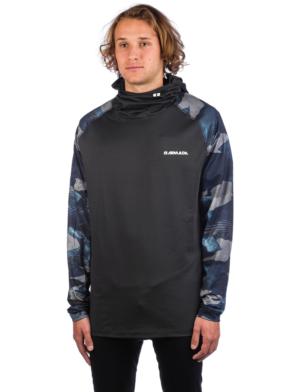 Rotor LT Hooded Funktionsshirt LS