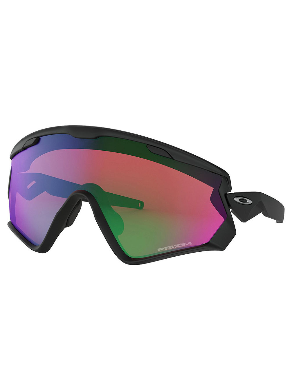 Wind Jacket 2.0 Matte Black Sonnenbrille