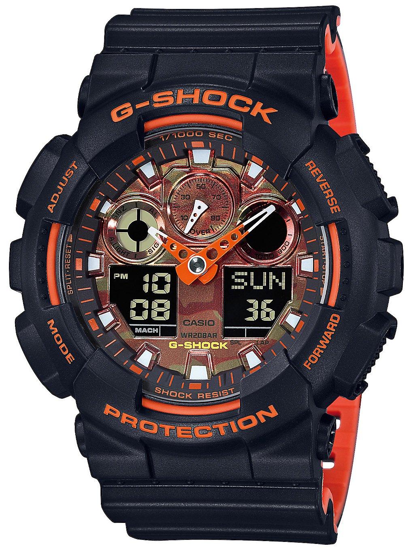 G-SHOCK GA-100BR-1AER noir