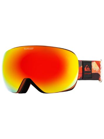 Quiksilver Qs R Barn Red Matte Painting Masque