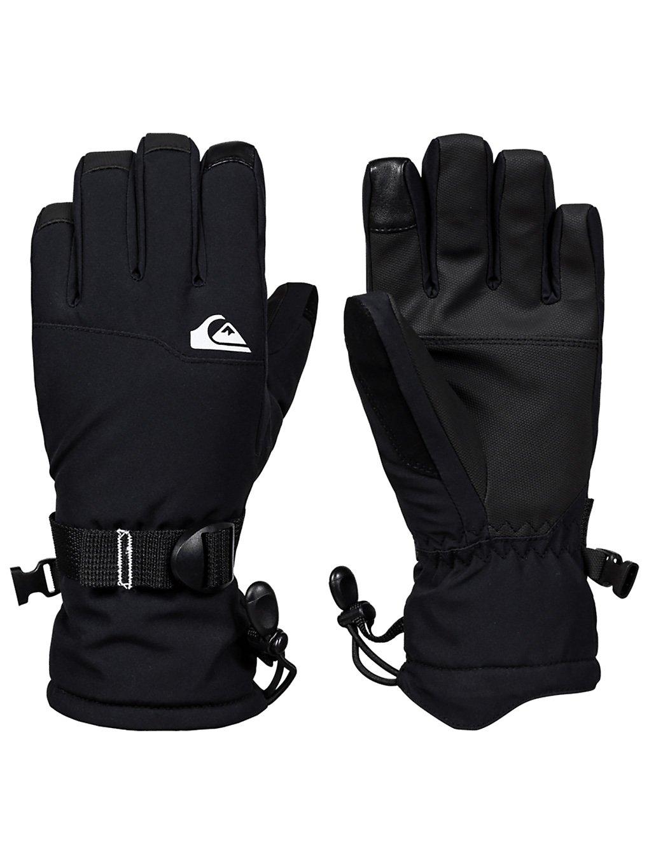 quiksilver mission gloves black