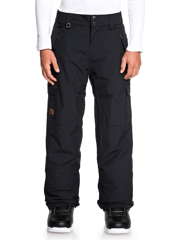 quiksilver porter pants black