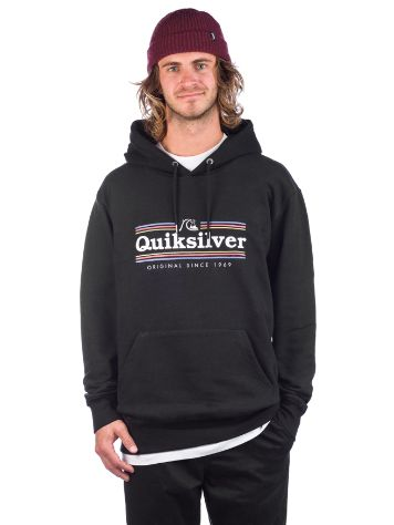 Quiksilver Get Buzzy Screen Mikina s kapucí