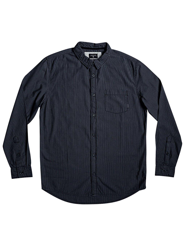 Artikel klicken und genauer betrachten! - Everyday Stripes - Langärmliges Hemd für MännerFeaturesStoff: leichtes Baumwoll-Leinwandgewebe [108 g/m2]Passform: Modern Fit, ein etwas längerer Regular Fit mit einem schmaleren SchnittVerschluss/Hals: normaler KnopfverschlussStoff mit vertikalen garngefärbten StreifenStückwaschung mit Weichspüler1 Brusttasche | im Online Shop kaufen