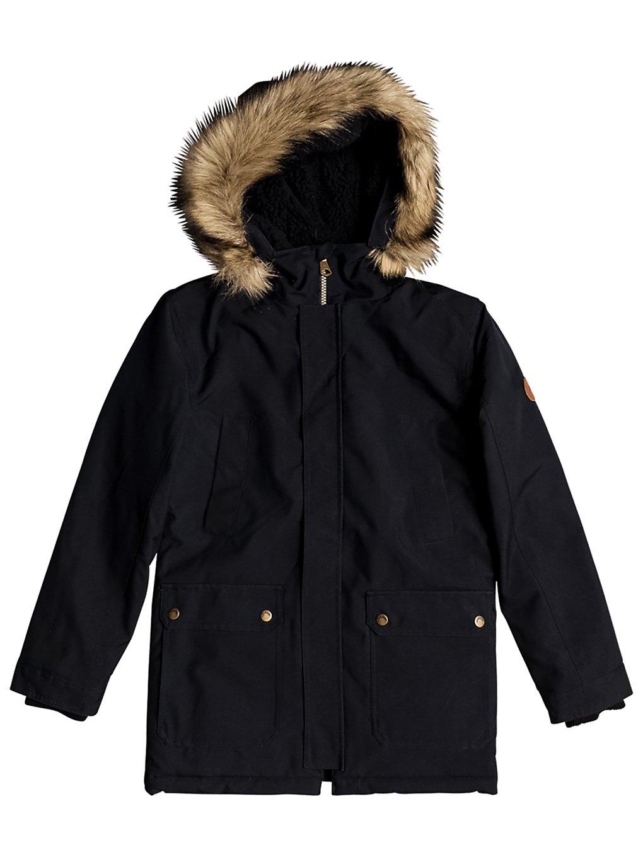 quiksilver ferris jacket black