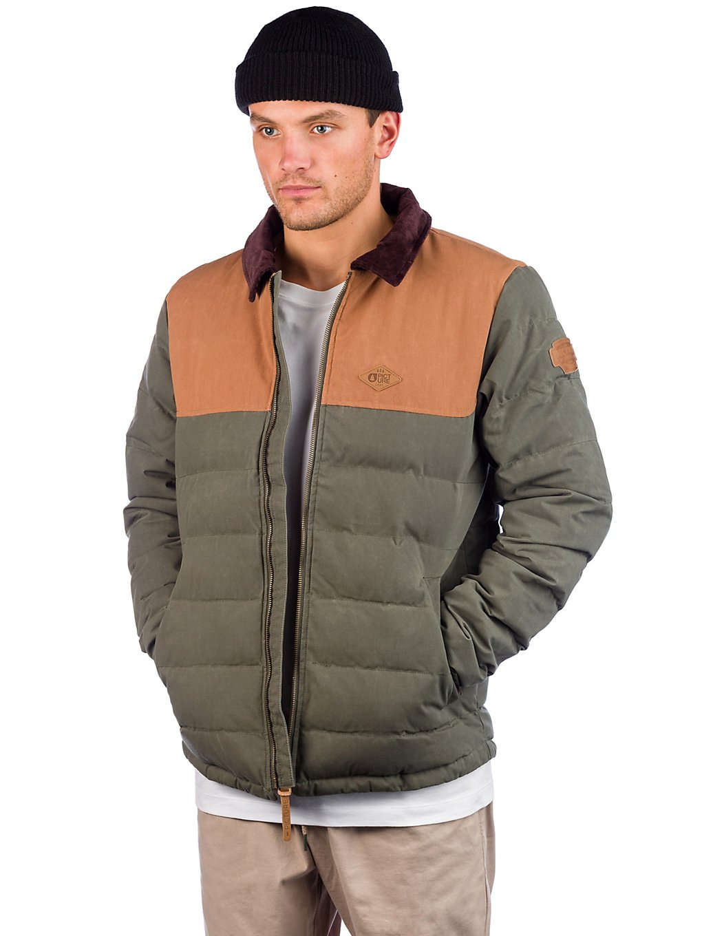 Picture Mc Murray Jacket a dark green