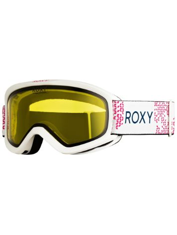 Roxy Day Dream Bad Weather Bright White Goggle