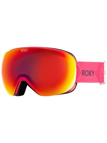 Roxy Popscreen Beetroot Pink Goggle