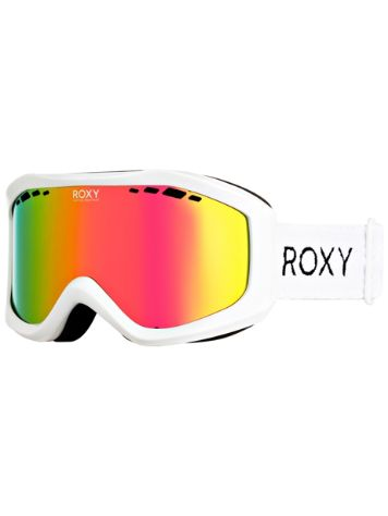 Roxy Sunset ML Bright White Goggle