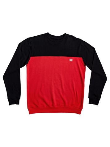 DC Rebel Block 3 Crew Sweater
