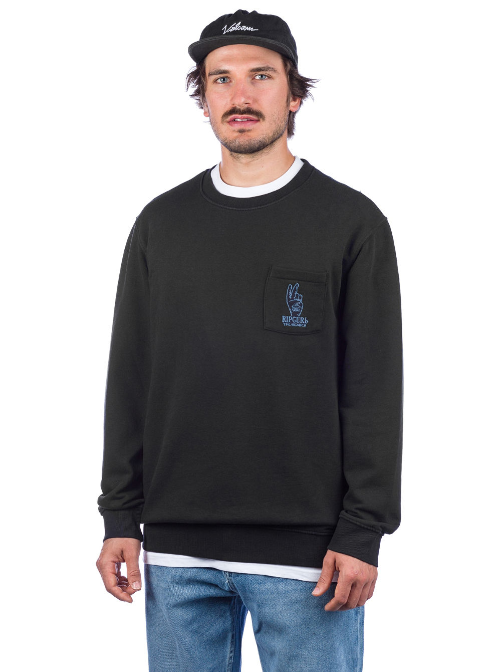 Set Up Crew Sweater