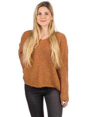 Rip Curl Woven V Neck Strickpullover