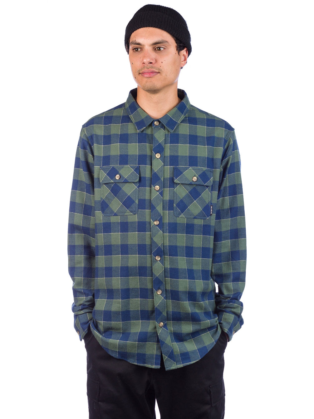 All Day Flannel Camisa