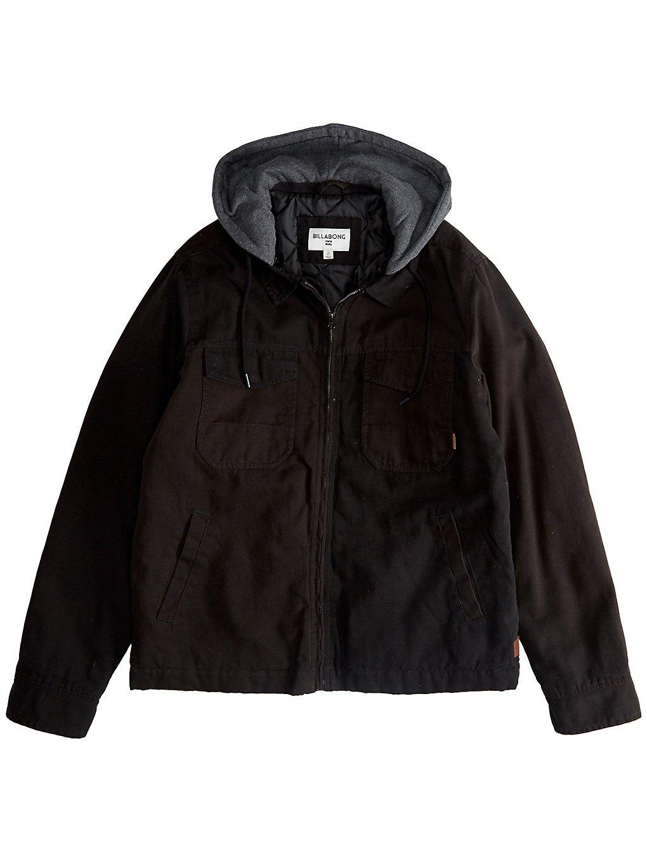 Billabong Barlow Twill Jacket noir