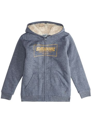 Billabong Trd Mark Sherpa Zip Hoodie