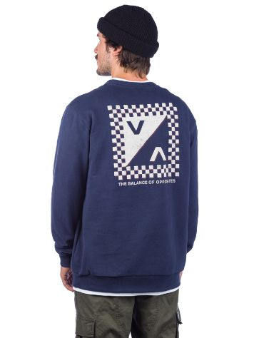 RVCA Check Mate Sweater
