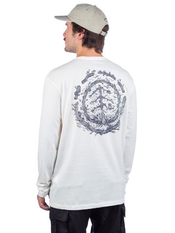 Element Too Late Logo Langarmshirt