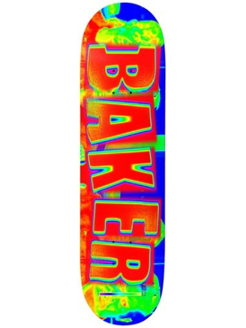 "Baker Tf Brand Name Infared 8.0"" Skateboard Deck"