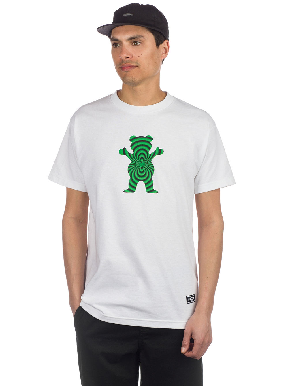 Achat Grizzly Warped Bear T-shirt En Ligne