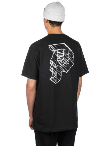 Primitive 3D Dirty P Outline T-Shirt