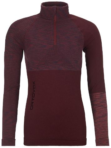 Ortovox Merino Comp Zip Neck Haut Technique LS