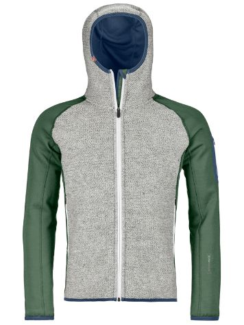 Ortovox Plus Classic Knit Hooded Giacca in Pile