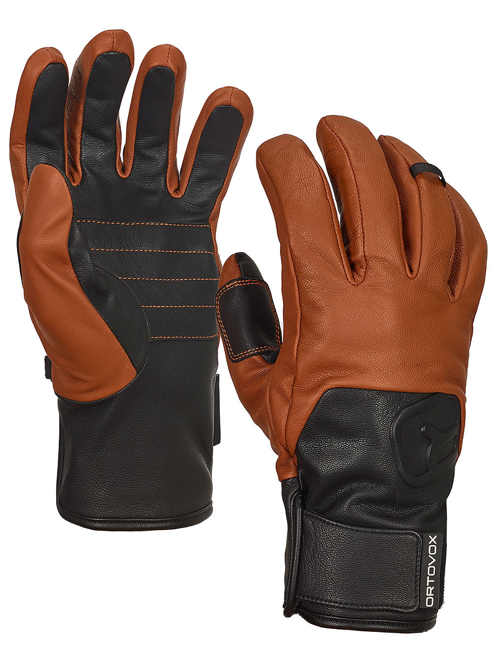 Swisswool Leather Gants