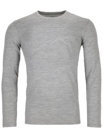 Ortovox Merino 185 Mountain Tech Tee LS