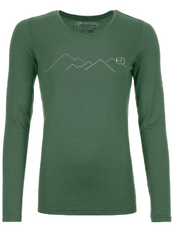 Ortovox 185 Merino Mountain Tech Tee LS