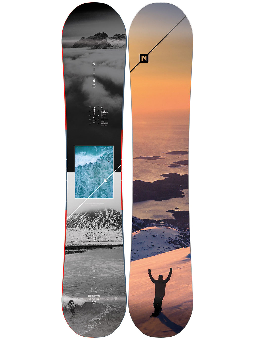 Team Exposure Gullwing 159W 2020 Snowboard