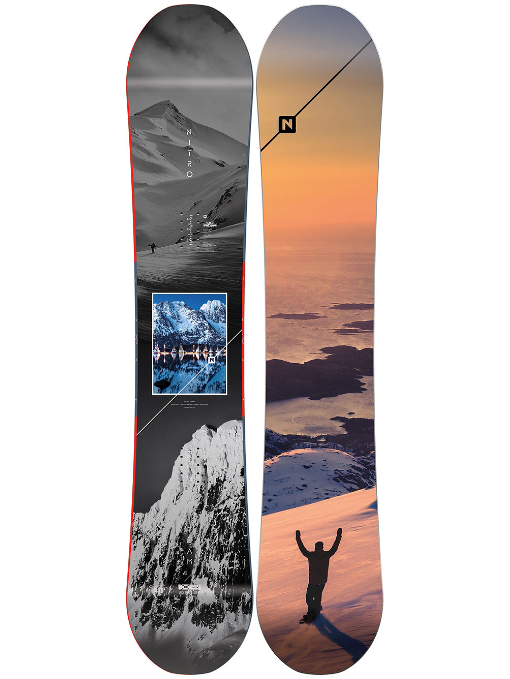 Team Exposure Gullwing 165W 2020 Snowboard