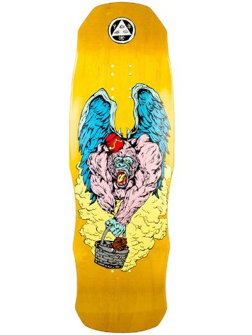 "Welcome Flying Ape On 9.75"" Dark Lord Skateboard Dec"