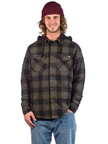 Salty Crew Dock Flannel Jacke