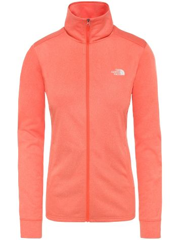 THE NORTH FACE Quest Full Zip Midlayer Giacca in Pile