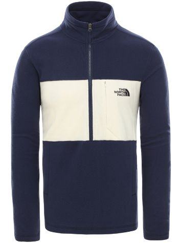THE NORTH FACE Blocked 1/4 Zip Felpa in Pile