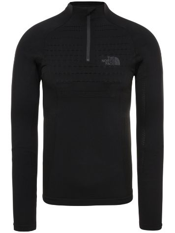 THE NORTH FACE Sport Zip Neck Tech Tee LS