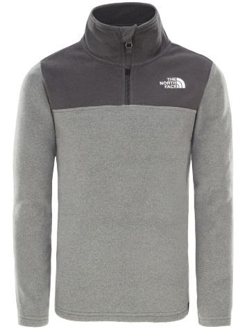 THE NORTH FACE Glacier Blocked 1/4 Zip Fleecový pulover