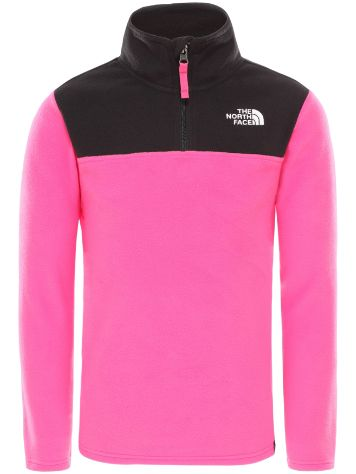 THE NORTH FACE Glacier Blocked 1/4 Zip Fleece Pullover