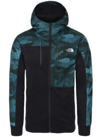 THE NORTH FACE Train N Logo Overlay Fleecejacke