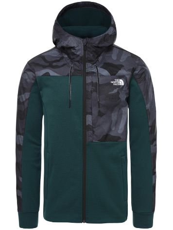 THE NORTH FACE Train N Logo Overlay Fleece Jacket