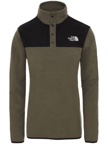 THE NORTH FACE TKA Glacier Snap Neck Fleece Sweater