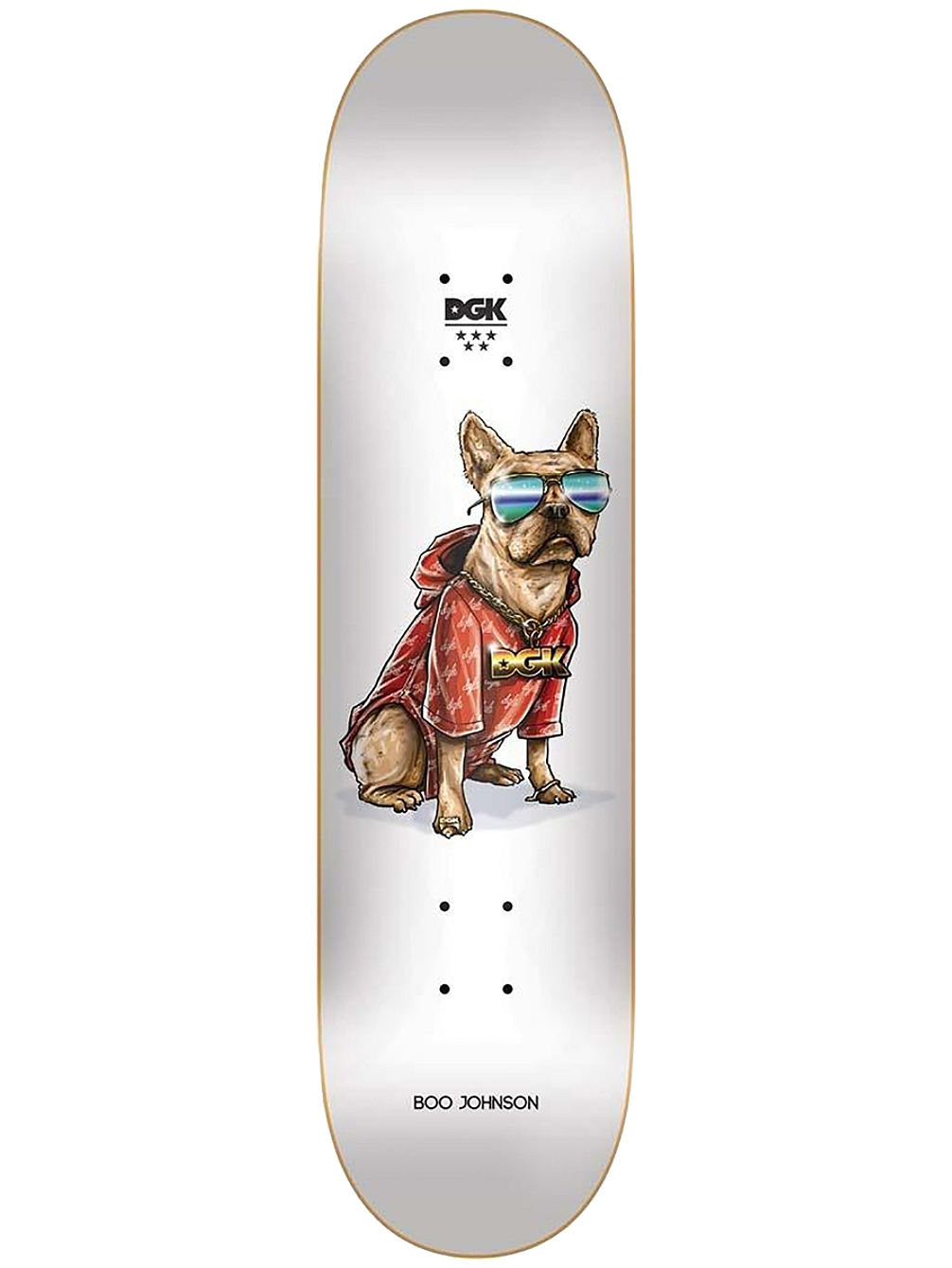 "Frenchy Boo 8.0"" Skateboard Deck"