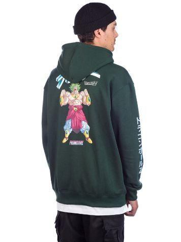 Primitive X Dragon Ball Z Dirty P Broly Sudadera con Capucha
