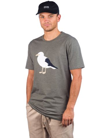 Cleptomanicx Gull 3 T-Shirt