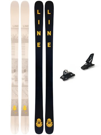 Line Honey Badger 166 + Squire 11 2020 Set Freeski